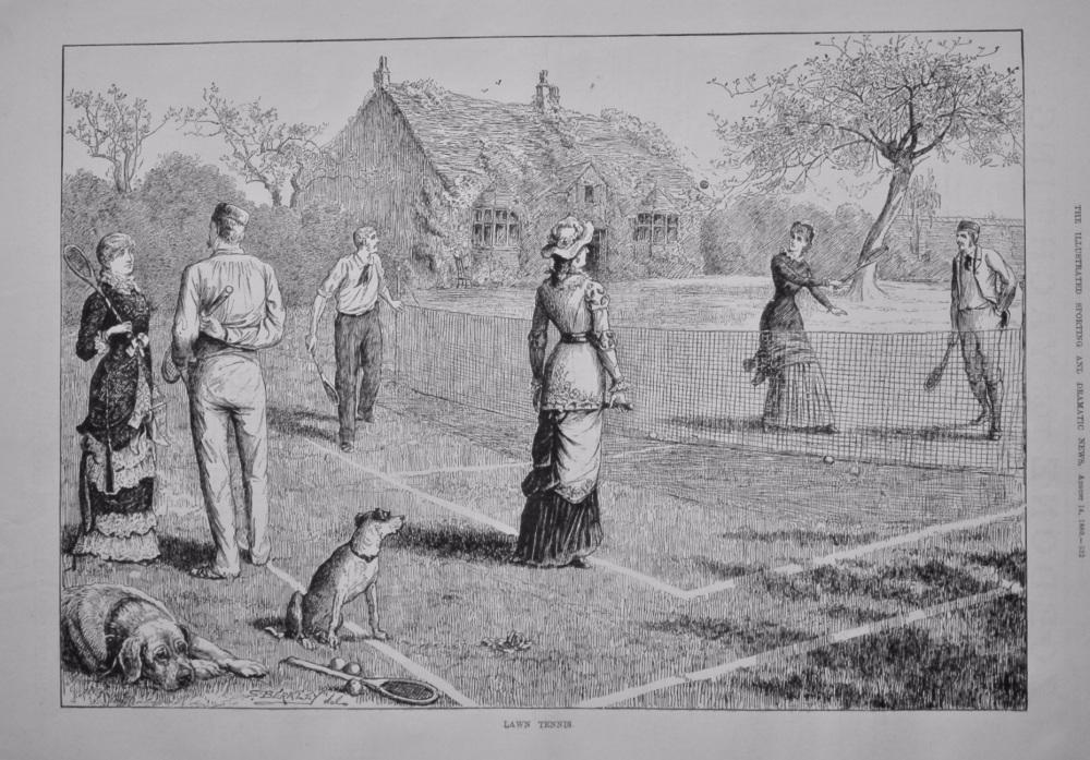 Lawn Tennis.  1880.