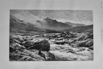 """""""The Salmon Poacher"""".  1898."""
