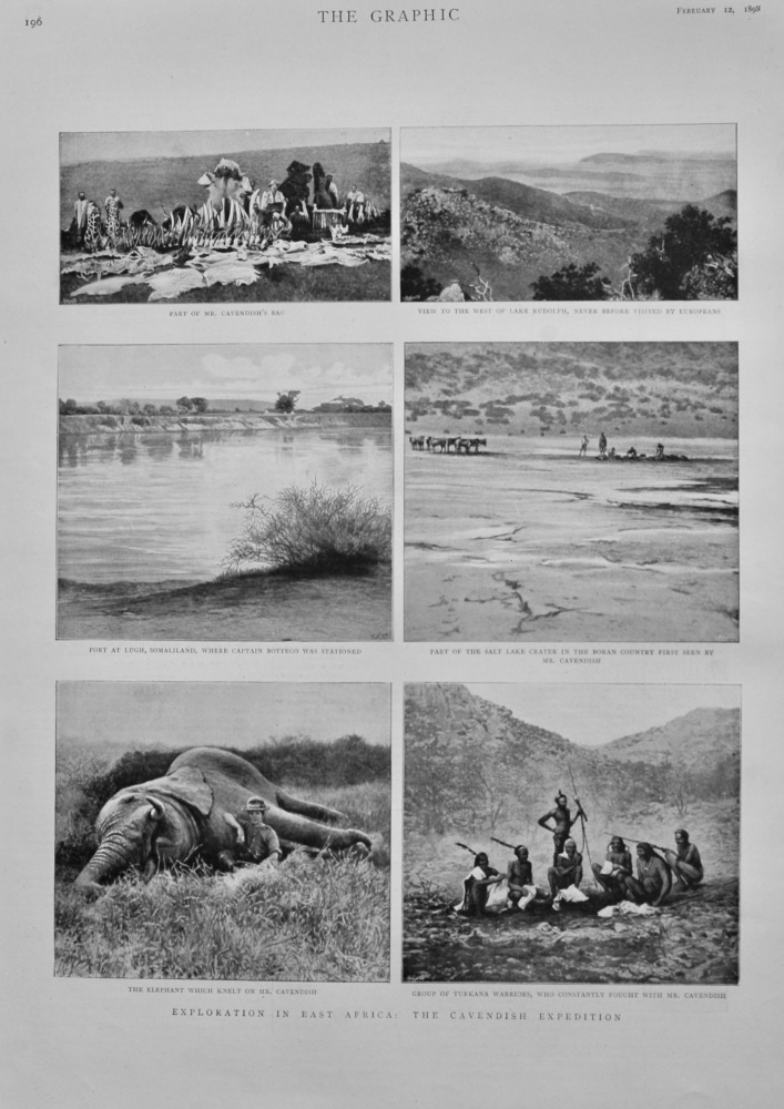 Exploration in East Africa : The Cavendish Expedition.  1898.
