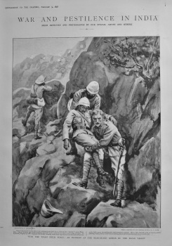 With the Tirah Field Force : An Incident of the Rear-Guard action in the Bazar Valley. 1898.