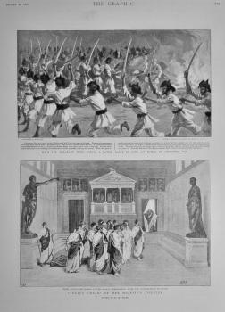 """Julius Caesar"" at Her Majesty's Theatre.  1898."
