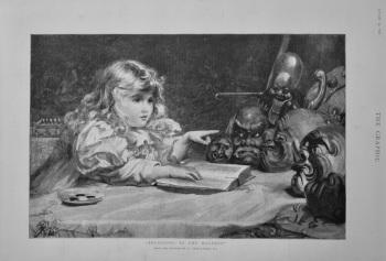 """""""Preaching to the Heathen"""".  1898."""