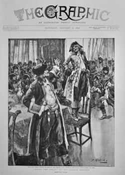 """""""Peter the Great"""" at the Lyceum Theatre.  1898."""