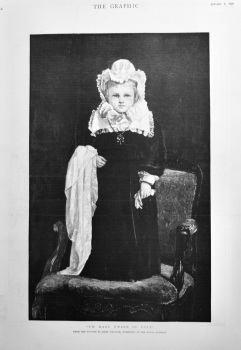 """""""I'm Mary Tween of Tots"""". (From a picture by James Hayllar, exhibited in the Royal Academy.)  1898."""