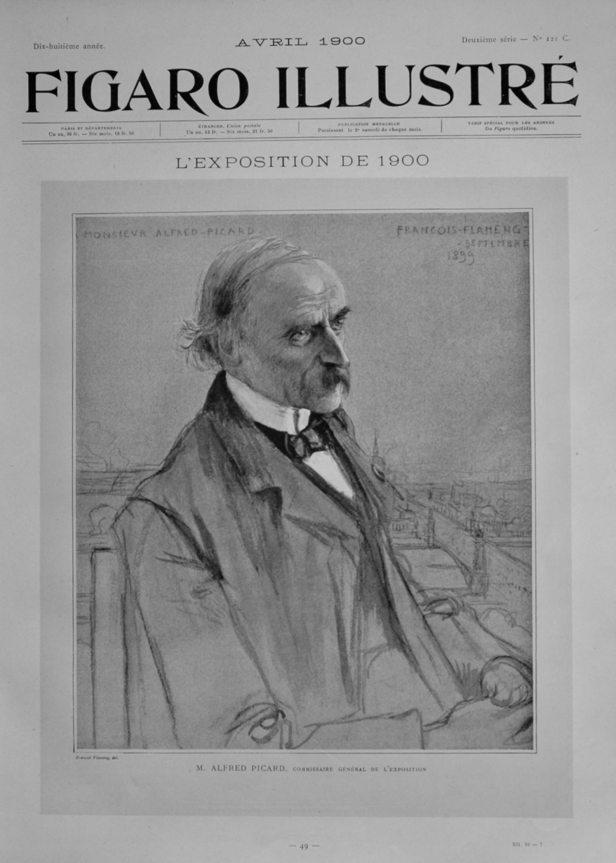 Figaro Illustre. April 1900.  L'Exposition de 1900.