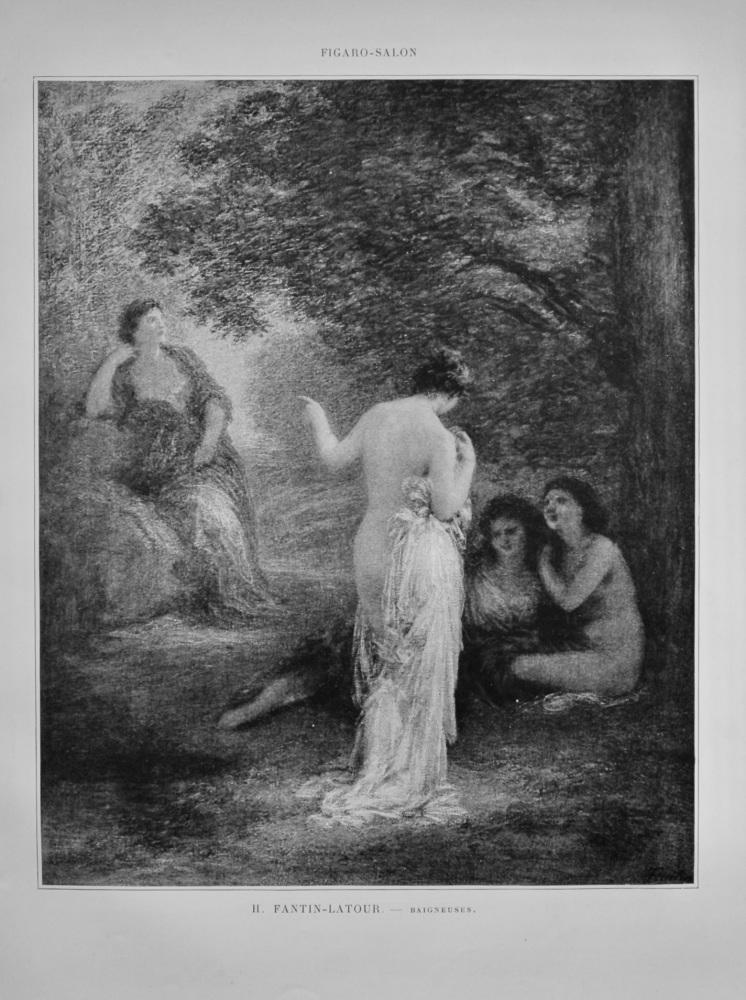 Baigneuses.  (Artist- H. Fantin-Latour.)  1899.