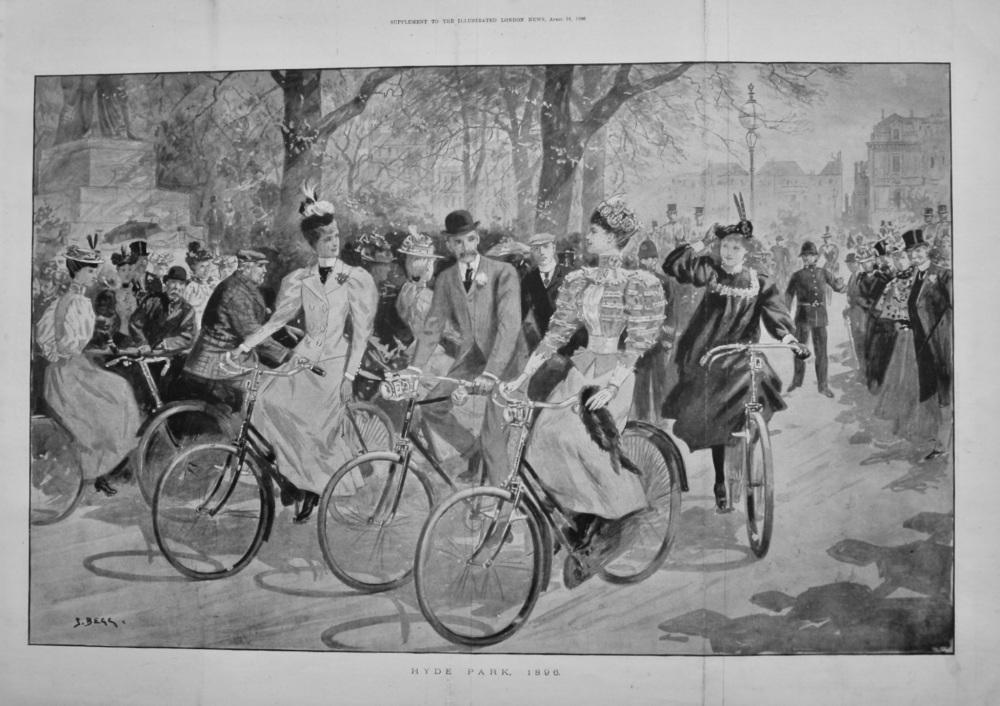 Hyde Park, 1896.