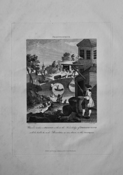 """Hogarth Restored"" : Frontispiece.  1802."