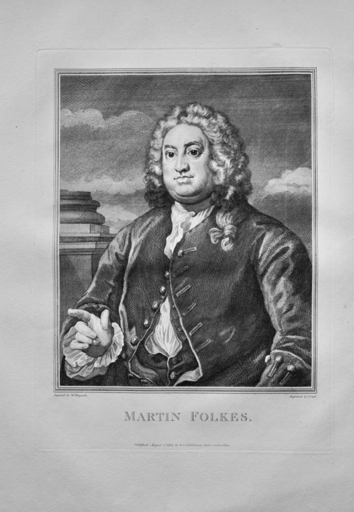 """Hogarth Restored""  :  Martin Folkes.  1802."