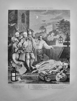 """Hogarth Restored,"" : Cruelty in Perfection"