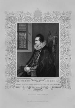 Charles Blount, Baron Montjoy, & Earl of Devonshire.