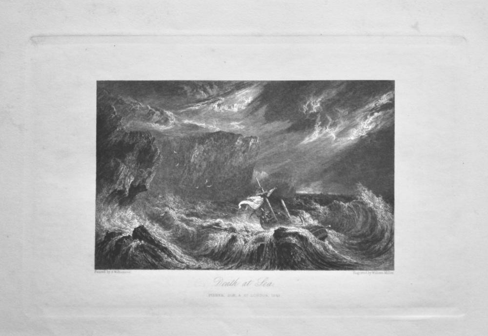 Death at Sea. 1845.