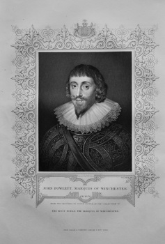 John Powlett, Marquis of Winchester.  1850c.