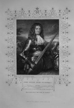 John Leslie, Duke of Rothes.  1850c.
