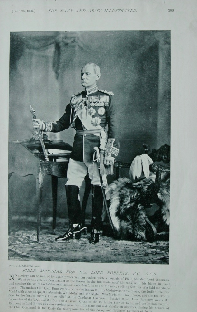Field Marshall Right Hon Lord Roberts V.C., G.C.B