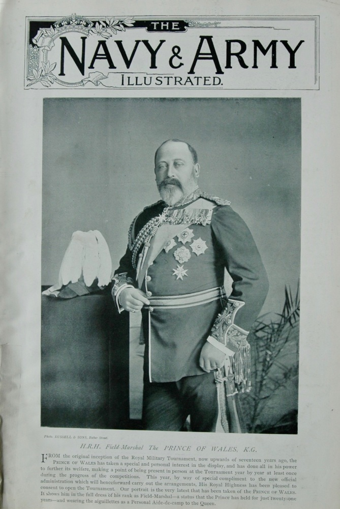 Full Copy of Navy & Army Illustrated 1896