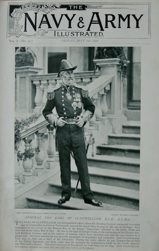 Admiral the Earl of Clanwilliam, K.C.B., K.C.M.G.