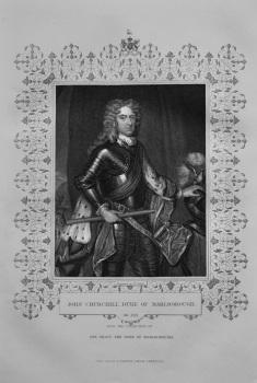 John Churchill, Duke of Marlborough.  1850c.
