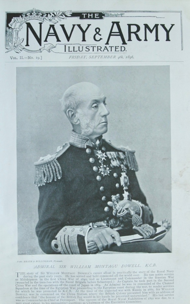 Admiral Sir William Montagu Dowell, K.C.B. 1896
