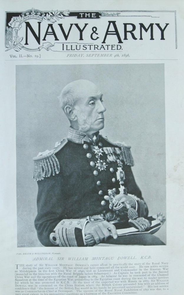 Admiral Sir William Montagu Dowell, K.C.B. 1896