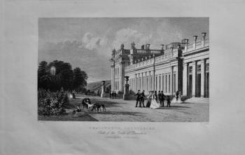 Chatsworth, Derbyshire. : Seat of the Duke of Devonshire.  1850c.