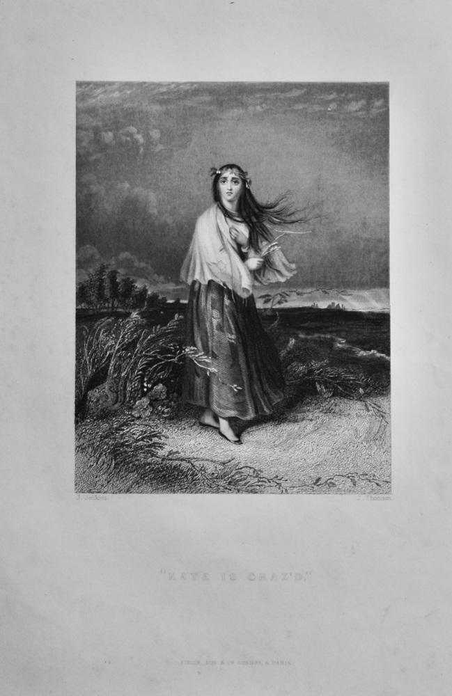 """""""Kate is Craz'd.""""   1850c."""