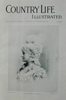 Country Life Illustrated, Sept 18th, 1897