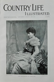 Country Life Illustrated, August 28th, 1897