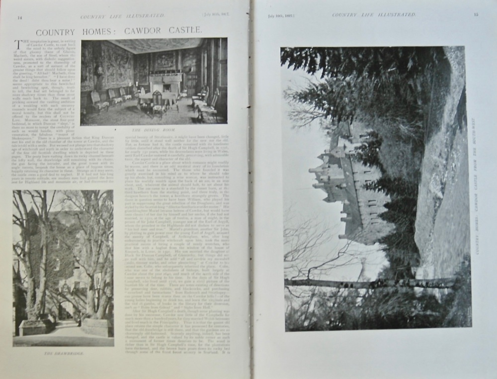 """Cawdor Castle."" 1897."
