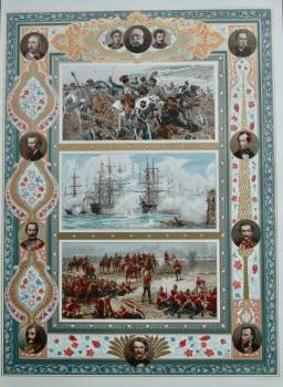 Battle of Inkerman.   Bombardment of Sebastopol.  &  Battle of Tel-el-Kebir.