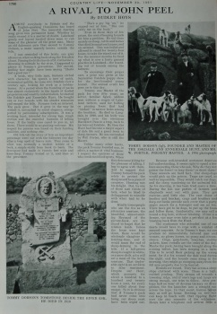 A Rival to John Peel - Country Life