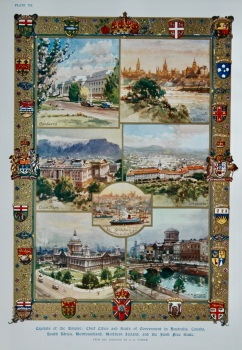 Capitals of the Empire : Chief Cities and Seats of Government in Australia, Canada, South Africa, Newfoundland, Northern Ireland, and the Irish Free S