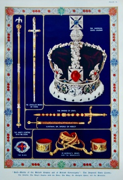 """""""Hall-Marks of the British Empire and of British Sovereignty."""" 1937."""