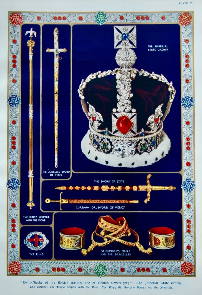 """Hall-Marks of the British Empire and of British Sovereignty."" 1937."