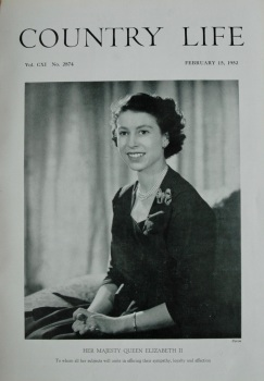 Country Life - H.M. The Queen