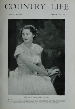 Country Life - Miss Mary Margaret Dennis