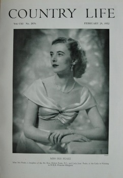 Country Life - Miss Iris Peake