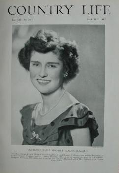 Country Life - The Honourable Miriam Fitzalan Howard