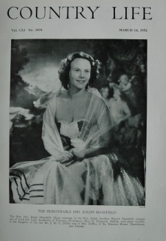 Country Life - The Honourable Mrs Ralph Mansfield