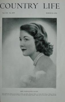 Country Life - Miss Sarah-Jane Slade