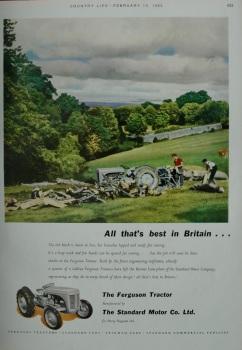 Advert for 'Ferguson Tractor'