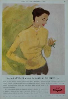 Advert for 'Braemar'