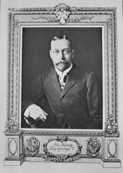 His Majesty King George V.  1911.