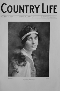 Country Life - Viscountess Maidstone 1917