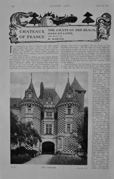 Country Life - The Chateau des Reaux