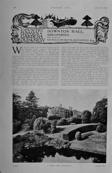Country Life - Downton Hall, Shropshire