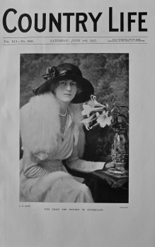 Country Life - Her Grace the Duchess of Sutherland