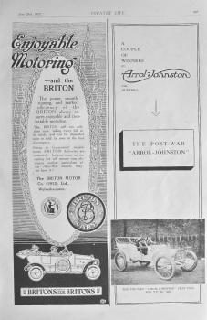 Britons/Arrol-Johnston Adverts