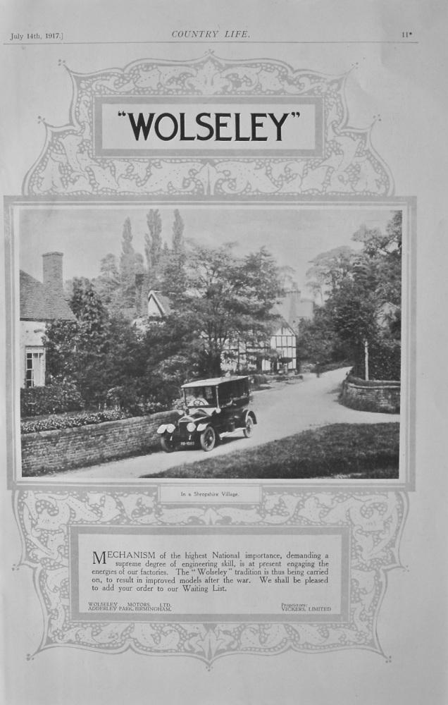 Wolseley Advert (Shropshire)