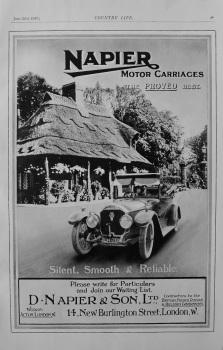 Napier Car Advert